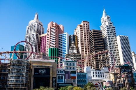 Las Vegas  New York New York Hotel and Casino - Fujifilm X100S