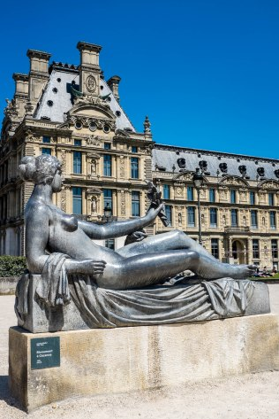 Sculpture at Louvre, Paris - Fuji X100S