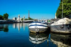 Paris, the Seine River
