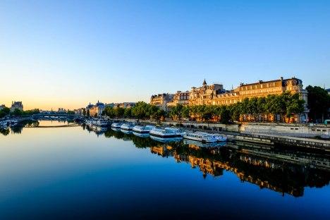 Paris Seine River - Fujifilm X-Pro1