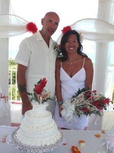 My beautiful wife Loretta and me in Cuba.