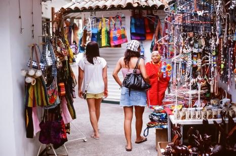 Puerto Vallarta street market - Canon F1